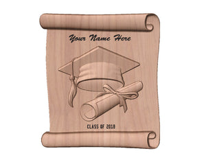 Custom Personalized Graduation Plaque