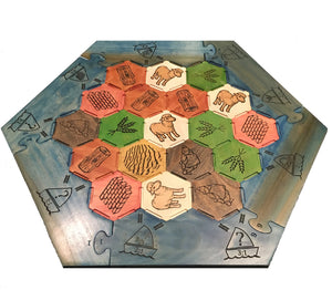 Settlers of Catan - Game Board