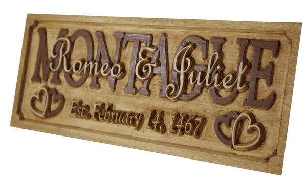 Custom Marriage / Anniversary Plaque