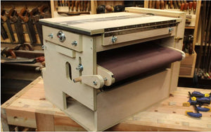 V Carve Project Plans to build a Thickness Sander