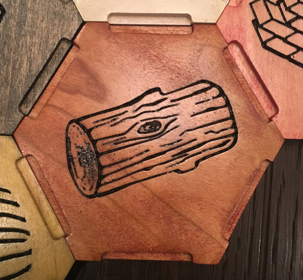 VCarve Project Plans to Create the Settlers of Catan Board Game