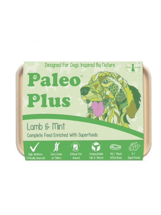 Paleo Plus Lamb & Mint 500g