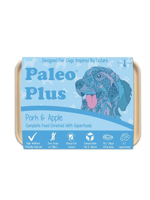 Paleo Plus Pork & Apple 500g