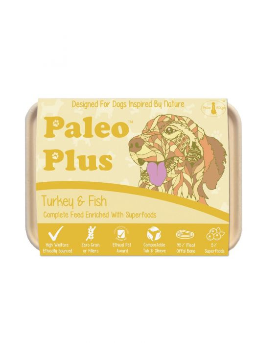Paleo Plus Turkey and Fish 500g