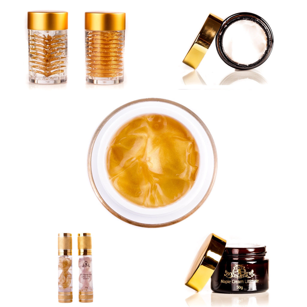 24K Gold Face Mask By Harvey Cooper - Anti Ageing Skin Treatment Cream For Men & Women