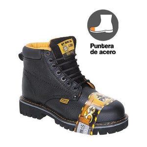 PMA036S Work Boot Heavy Duty Steel Toe Negro