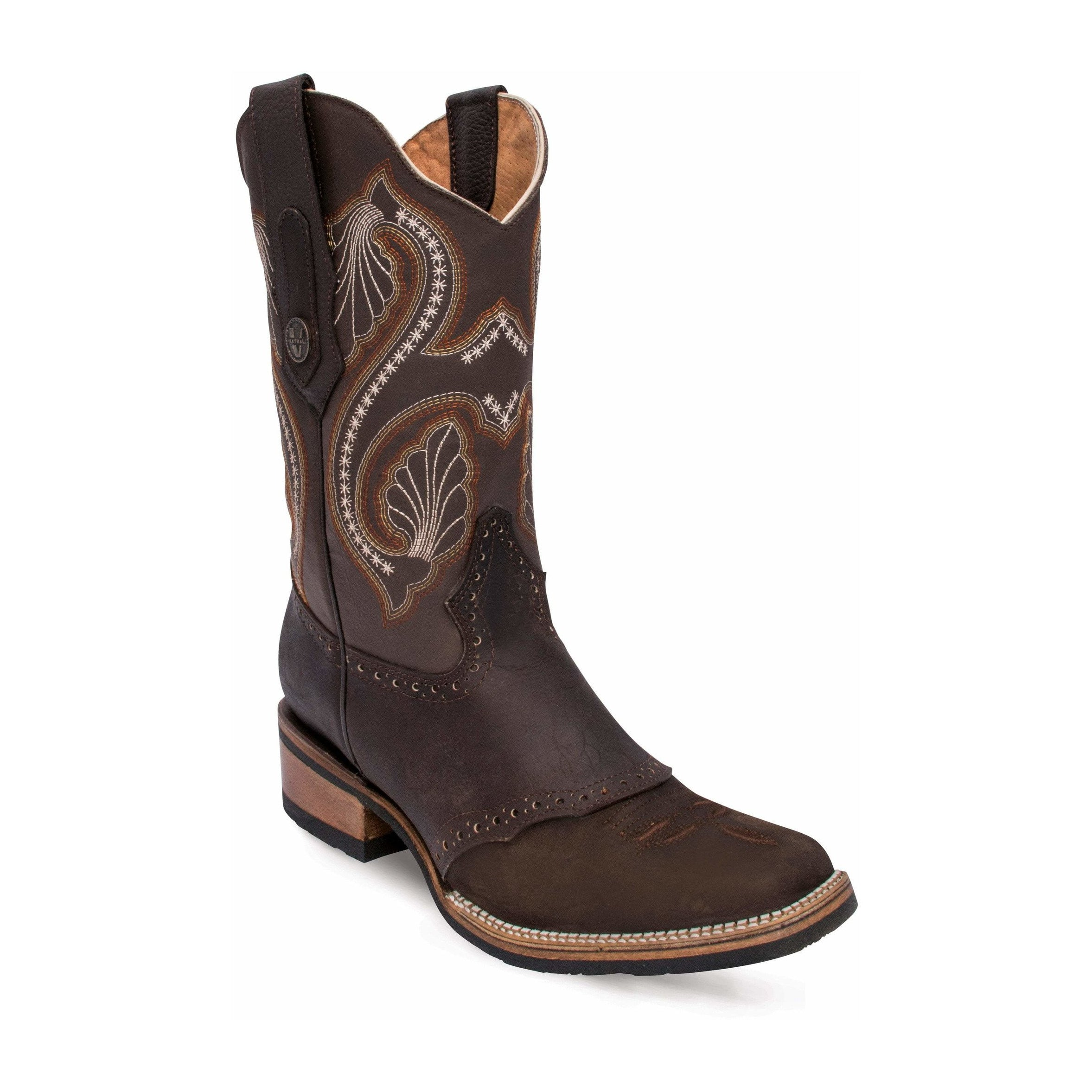 VE192 Bota Rodeo Dama con Antifaz Verthali Cafe