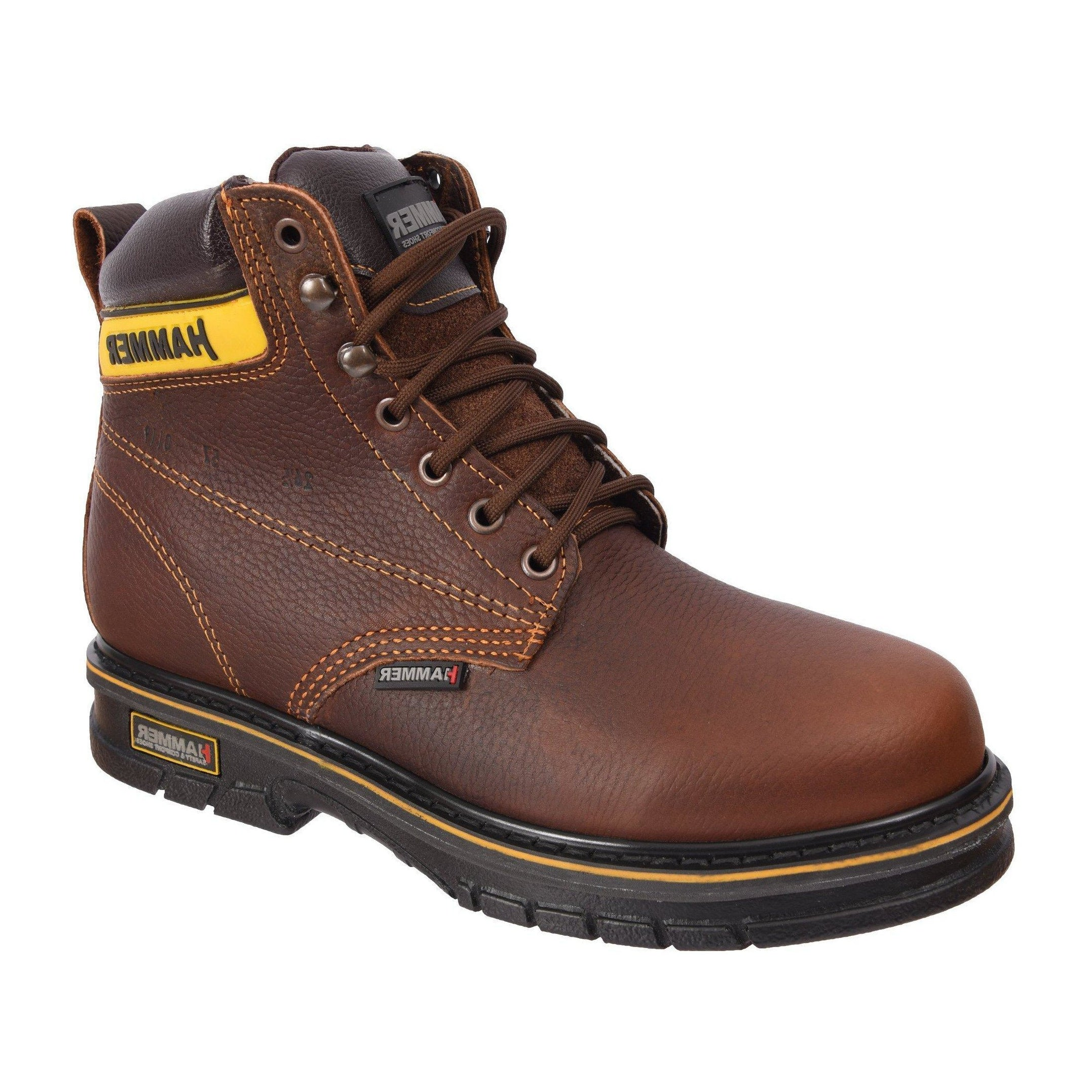ACM57 Botin de Trabajo Hammer Lace Up Roble