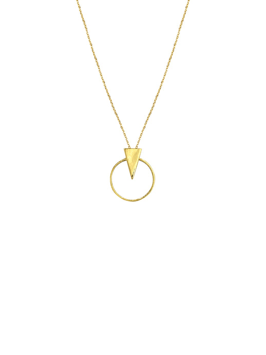 14K Gold Love & Strength Necklaces