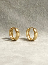 18K Gold Filled Thick Clicker Earrings