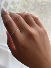 14K Infinity Sign Mini Stackable Ring