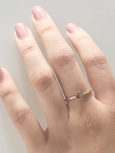 14k Gold Diamond Love Is In Your Hands Ring