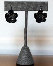 STERLING SILVER OXIDIZED-CHERRY BLOSSOM EARRING
