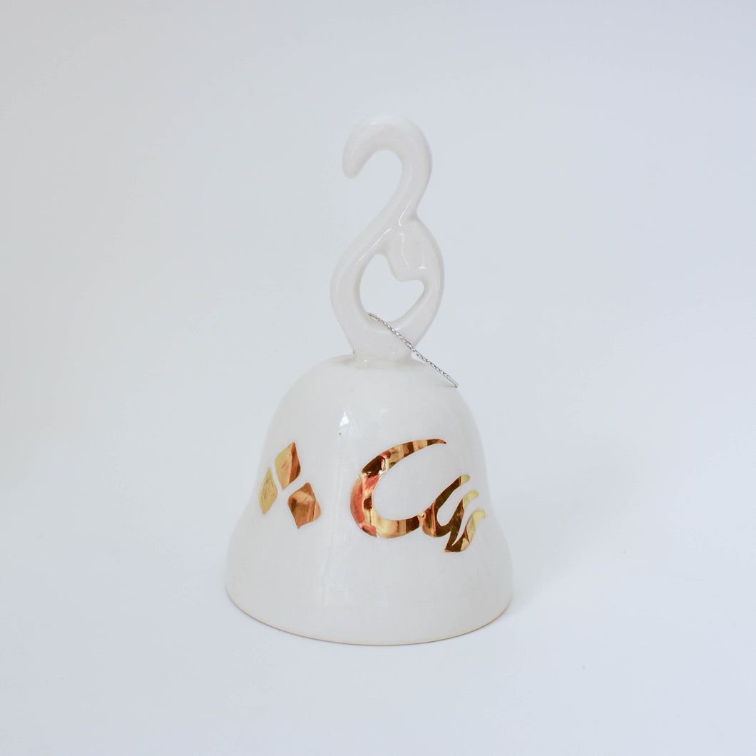 Christmas Bell Gold-plated