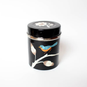 Painted Bird Jar