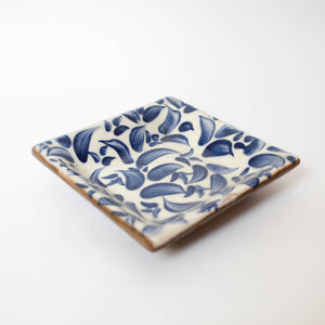 Painted Blue Dish (Code 9)