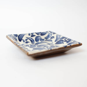 Painted Blue Dish
