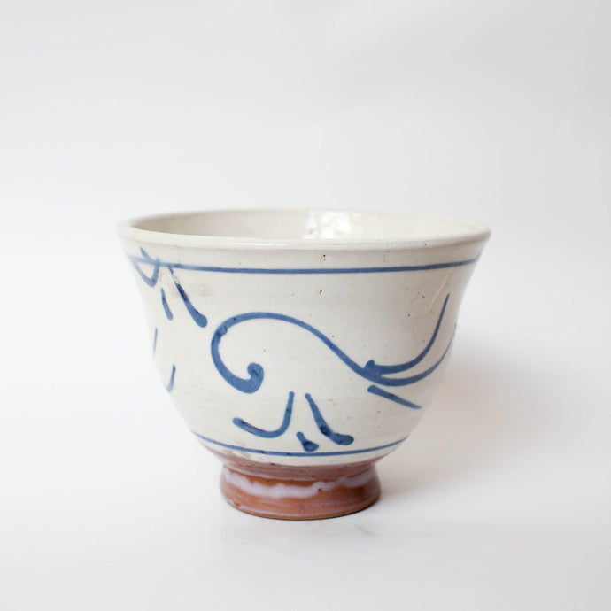 Blue Hand-painted Ceramic Bowl