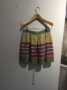 Zara strips skirt