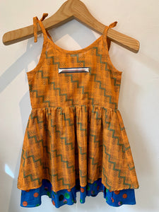 Multiple Stamp Kid's Dress