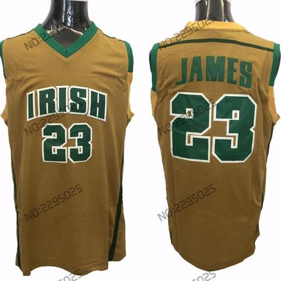 huge selection of c4972 98c78 LeBron James St. Vincent Mary Highschool Jersey