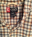 RL Chaps Multi color button up XL TG (tall)