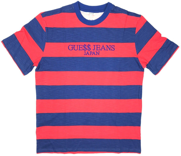 Japan Limited Guess/Rocky A$AP striped T-Shirt - Outlet44.com