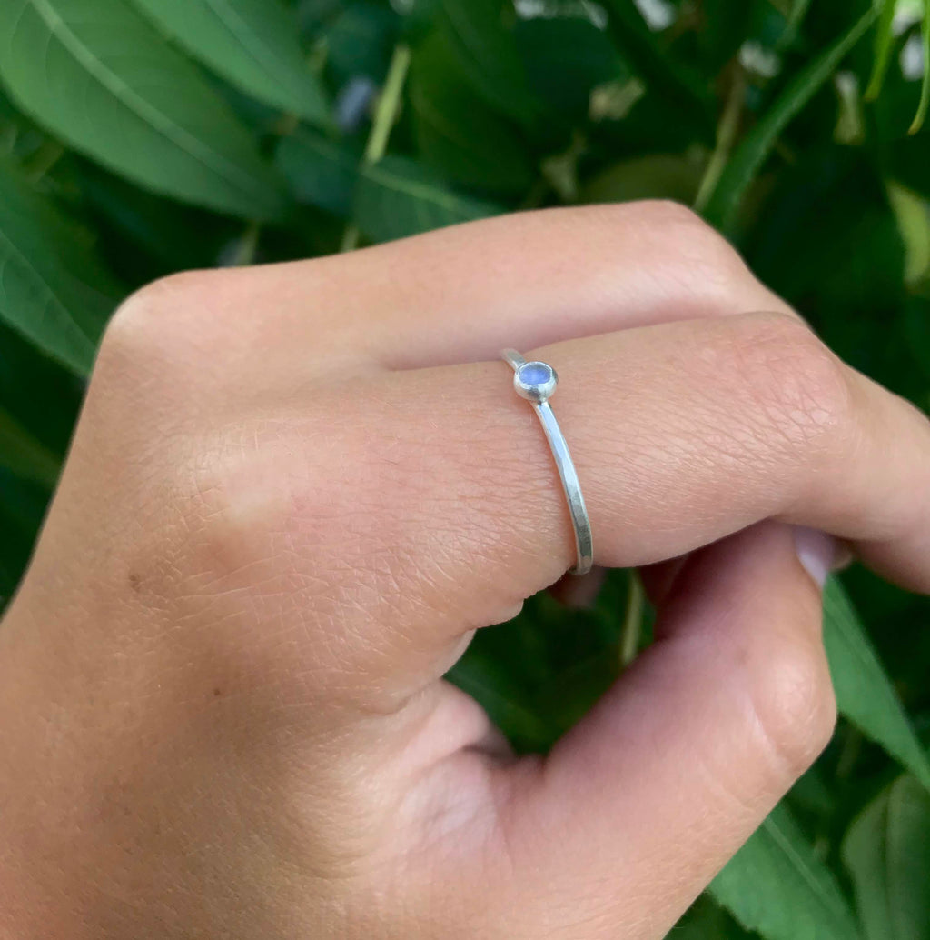 Moonstone Ring - Alissa Taylor Designs