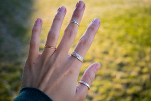 Stacking Rings- 3 Pack - Custom Sizing