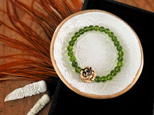 Load image into Gallery viewer, Gemstone Peridot Bead Bracelet | Alissa Taylor Designs