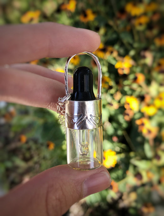 CBD Oil Dropper Necklace - Alissa Taylor Designs
