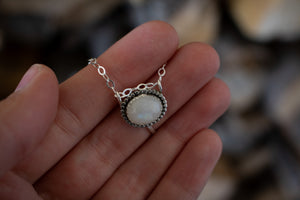Full Moon Necklace - Autism Awareness