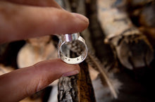 Load image into Gallery viewer, Ash Inlay Ring - Customizable
