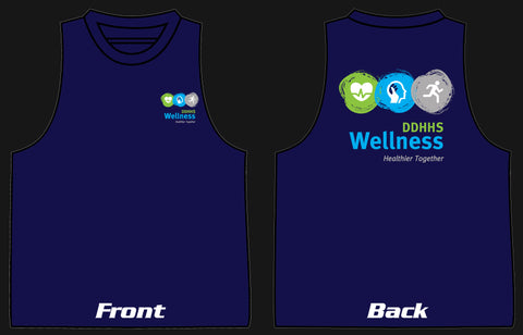 DDHHS Wellness Botany Singlet Mock-up