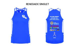 40 for Fortey Mens Renegade Singlet