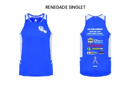 40 for Fortey Ladies Renegade Singlet