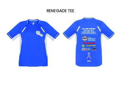 40 for Fortey Kids Renegade Tee