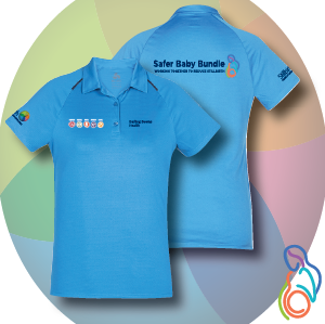 Darling Downs Health - Safer Baby Bundle Ladies Academy Polo