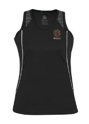 DDH Wellness Ladies Razor Singlet
