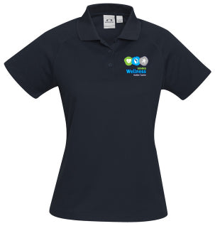 DDHHS Wellness Ladies Sprint Polo Mock-up