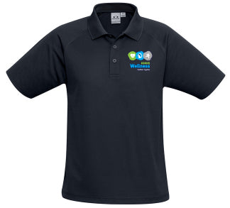 DDHHS Wellness Mens Sprint Polo Mock-up