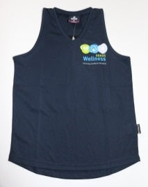 DDHHS Wellness Ladies Botany Singlet - Front