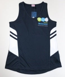 DDHHS Wellness Ladies Tasman Singlet - Front