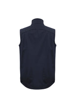 Biz Collection Mens Geneva Vest Back - Plain