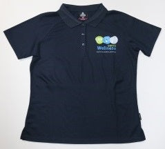 DDHHS Wellness Mens Keira Polo - Front