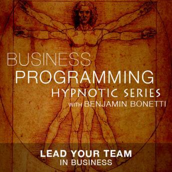Lead Your Team In Business - Hypnotic Business Programming Series