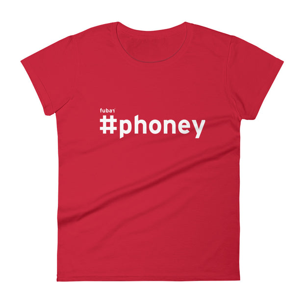 PHONEY #FUBAR Women's Short Sleeve T-Shirt
