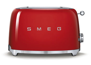 Smeg 2 Slice Toaster Red