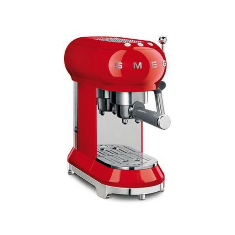 Smeg ECF01RDUK Red Coffee Machine - KBME