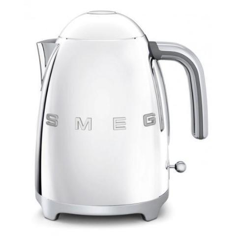 Smeg Klf03Ssuk Silver Retro Style Cordless Electric Kettle